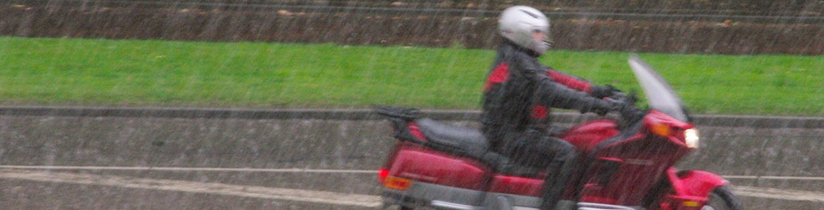 Ways to Ride a Motorcycle in the Rain, StreetRider Insurance, Ontario