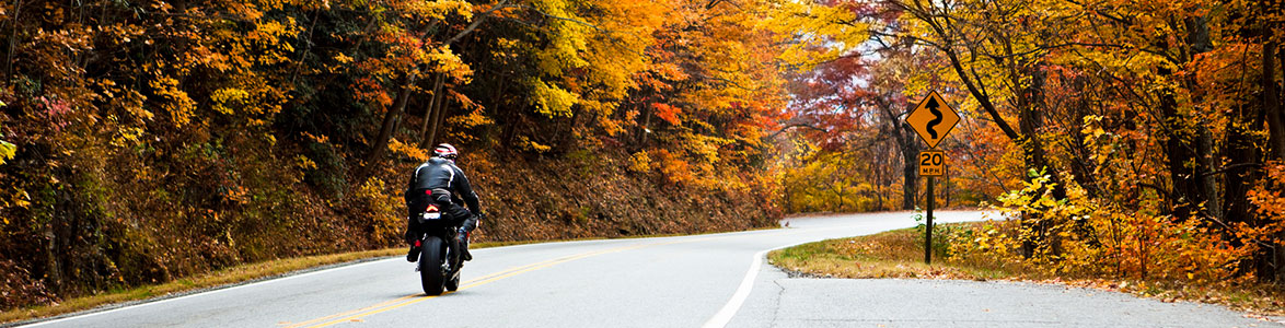 3 Tips for Riding a Motorcycle in the Fall, StreetRider Insurance, Ontario